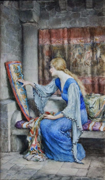 William Henry Margetson Tutt'Art @ (10) (409x698, 338KB)