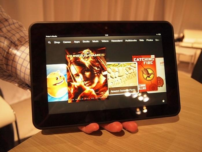 Обзор планшета Kindle Fire HD8.9