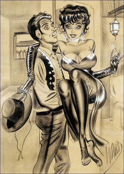 illustrations by Bill Ward3б (499x700, 428Kb)