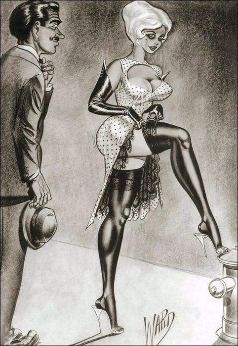illustrations by Bill Ward11б (482x700, 323Kb)