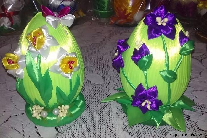 Шелковые пасхальные яйца. Для вдохновения (31) (700x467, 287Kb)