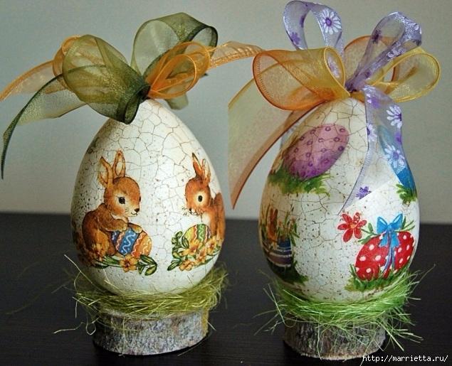 Пасхальный декор. Красивые идеи к празднику (18) (635x515, 259Kb)