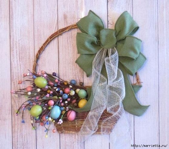 Пасхальный декор. Красивые идеи к празднику (22) (558x490, 191Kb)