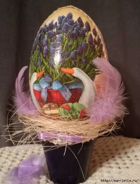 Пасхальный декор. Красивые идеи к празднику (30) (451x592, 160Kb)
