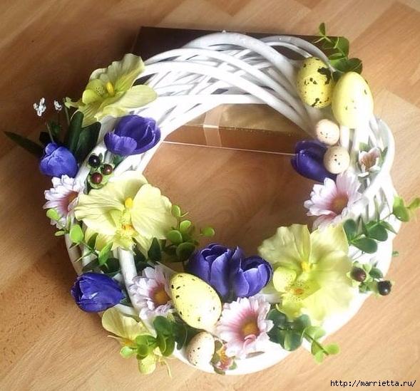 Пасхальный декор. Красивые идеи к празднику (36) (589x549, 223Kb)
