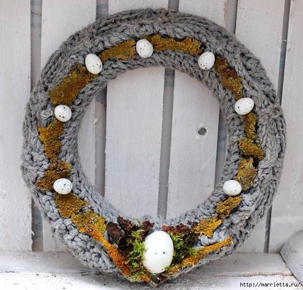 Пасхальный декор. Красивые идеи к празднику (38) (605x579, 271Kb)