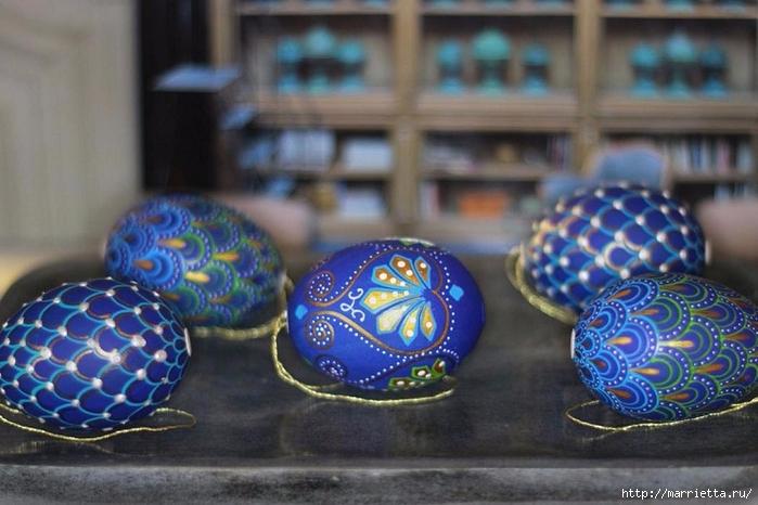 Пасхальный декор. Красивые идеи к празднику (40) (700x466, 237Kb)