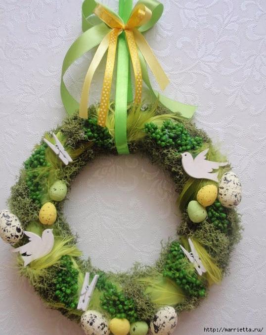 Пасхальный декор. Красивые идеи к празднику (44) (538x676, 240Kb)