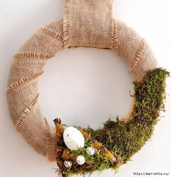 Пасхальный декор. Красивые идеи к празднику (46) (570x590, 258Kb)