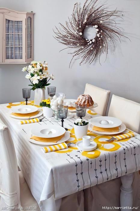 Пасхальный декор. Красивые идеи к празднику (50) (466x700, 172Kb)
