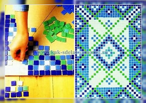 Как сделать своими руками мозаику