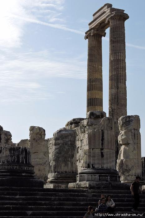 Shraddha_trаvel Турция 2016, Храм Апполона (5) (466x700, 234Kb)