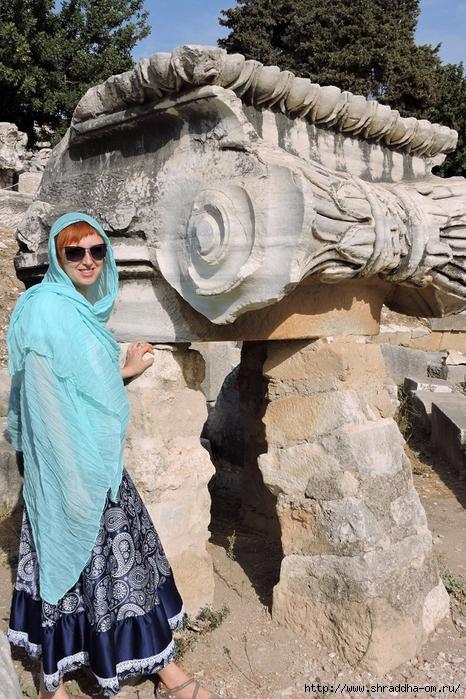Shraddha_trаvel Турция 2016, Храм Апполона (10) (466x700, 357Kb)