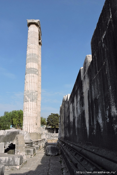 Shraddha_trаvel Турция 2016, Храм Апполона (14) (466x700, 245Kb)