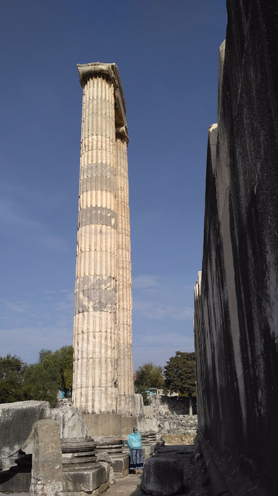 Shraddha_trаvel Турция 2016, Храм Апполона (18) (393x700, 233Kb)