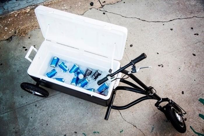 Kreweser   велосипед холодильник!