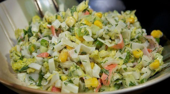 Салат из легких фото
