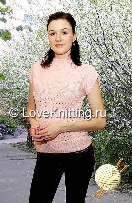 01 Автор Летний пуловер МТ2_1 (458x700, 429Kb)