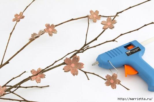 Цветы из бумаги в интерьере. Красивые идеи (5) (533x355, 86Kb)