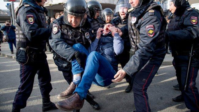 Репрессии против участников антикоррупционной акции 26 марта 2017 года (650x366, 68Kb)