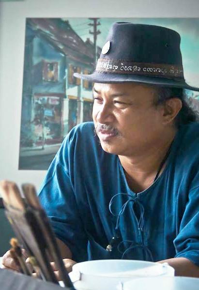 Творчество художника из Бангкока Thanakorn Chaijinda