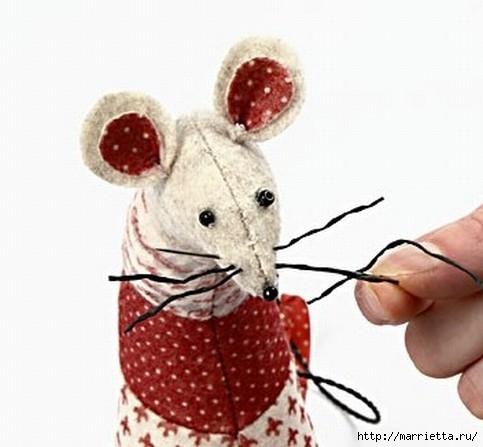 Не хотите сшить для малыша мышку (14) (483x447, 96Kb)