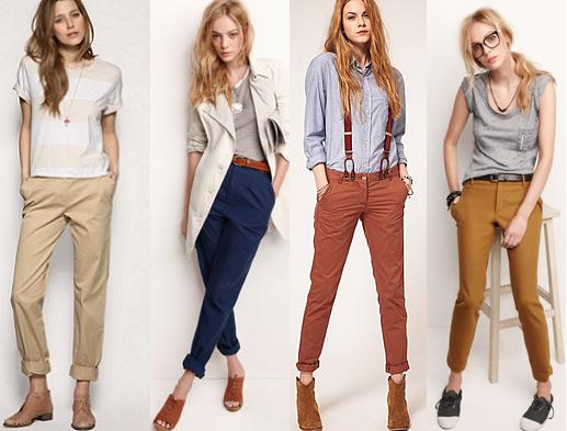 Модные брюки ЧИНОС. Как и с чем носить (1) (517x393, 390Kb)