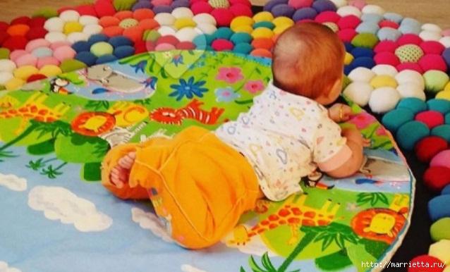 Старые футболки для создания детского коврика (1) - копия (638x386, 162Kb)