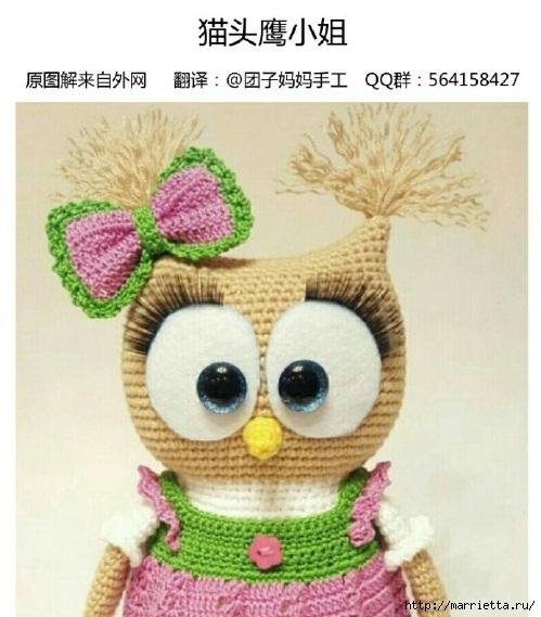 Игрушка амигуруми «Совушка в кедах». Описание (1) (499x569, 160Kb)