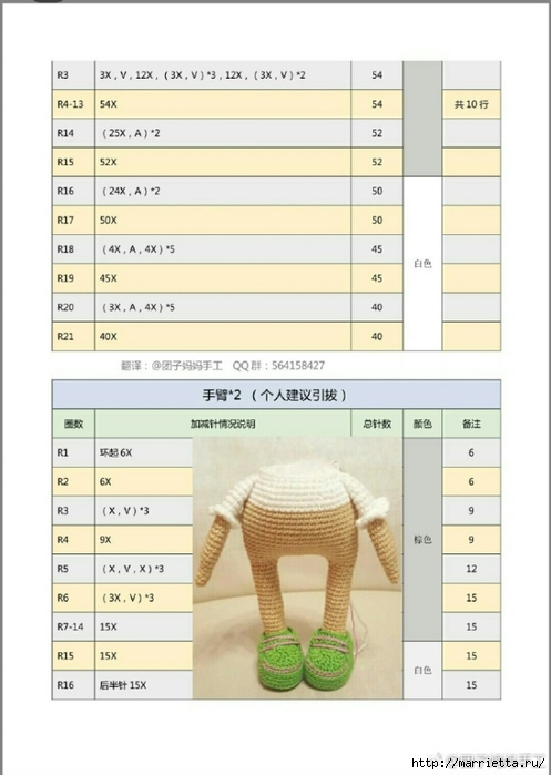 Игрушка амигуруми «Совушка в кедах». Описание (7) (497x700, 154Kb)