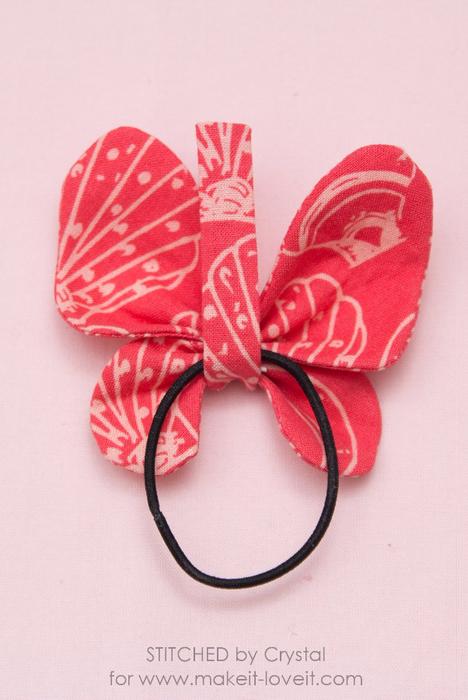 Бабочка из ткани МК 16 (468x700, 304Kb)