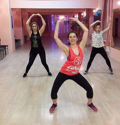 Уроки зумбы в школе танцев «Viva La Danza» (1)