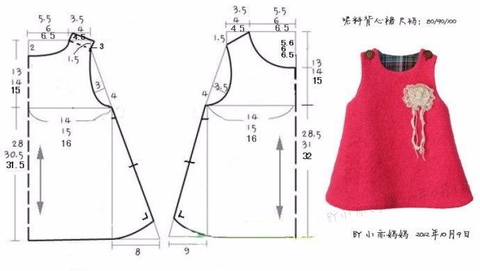 Как сшить детский сарафан своими руками для начинающих выкройки 72