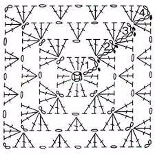 Сервировочная салфетка крючком с цветочками (4) (225x224, 62Kb)