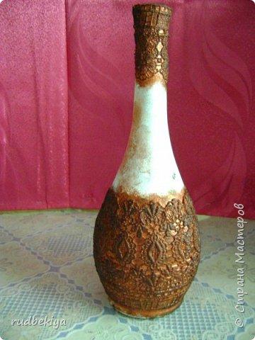Декорирование бутылок в технике Сицилийское Кружево (12) (360x480, 142Kb)