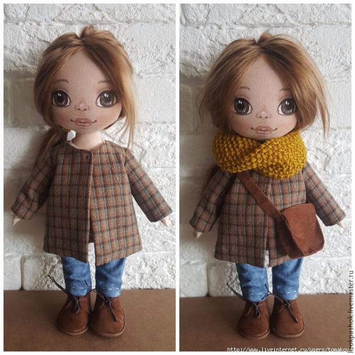 Пальто для кукол мастер класс