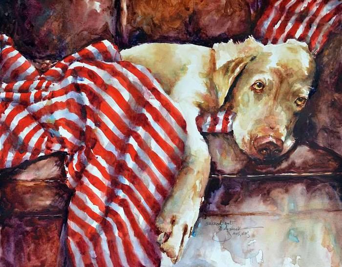 American artist by Bev Jozwiak (700x546, 82Kb)