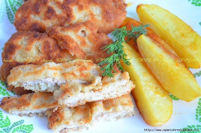 Отбивные в кляре из свинины с сыром рецепт с пошагово