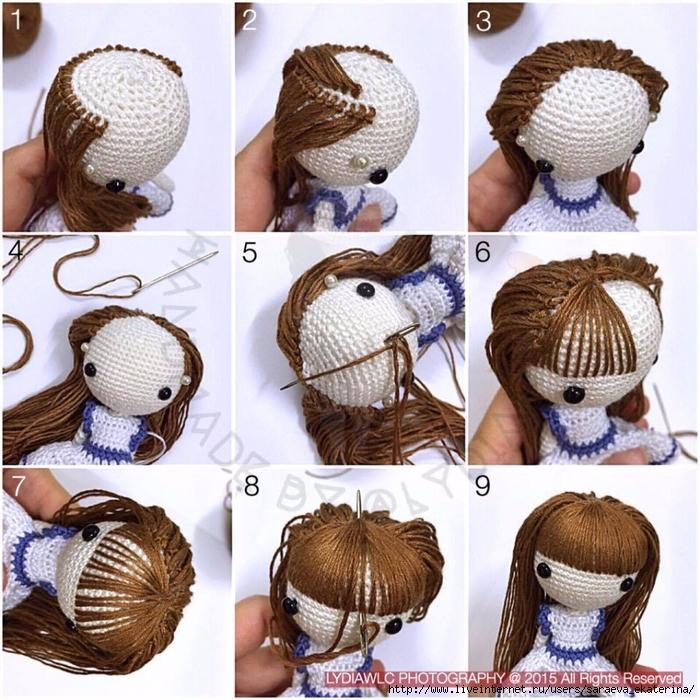 Как сделать крючки для кукол