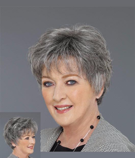 Фото причесок для пожилых дам