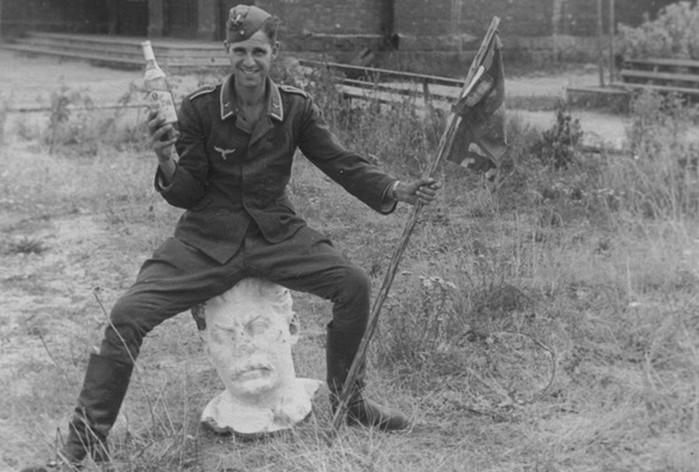 Какие трофеи фашисты вывозили из СССР?