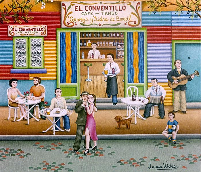 93-Tita-y-el-guapo-bailando-tango-30x40-cm (700x596, 685Kb)