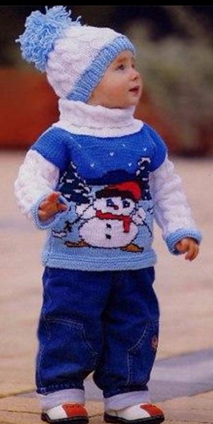 свитор снеговик (310x617, 171Kb)