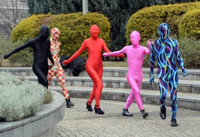 Экстравагантная Япония   Tokyo Zentai Club