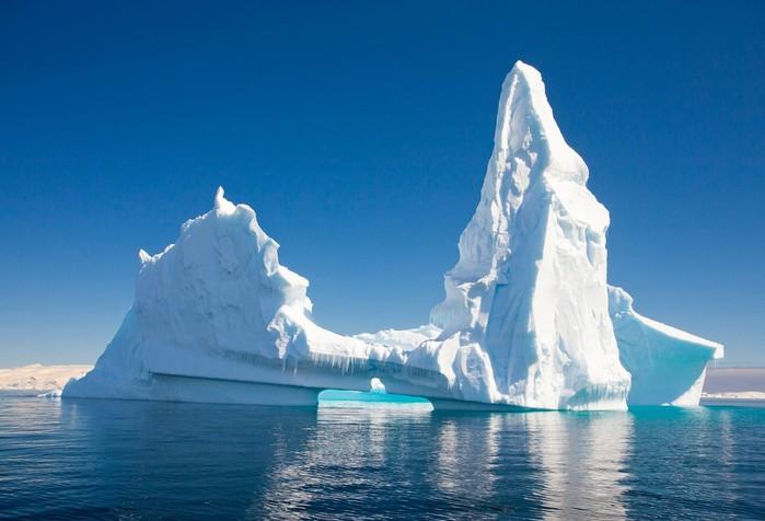 Откуда берутся айсберги? Отколовшиеся части ледников