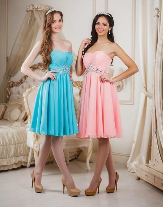 Самые модные платья для выпускного