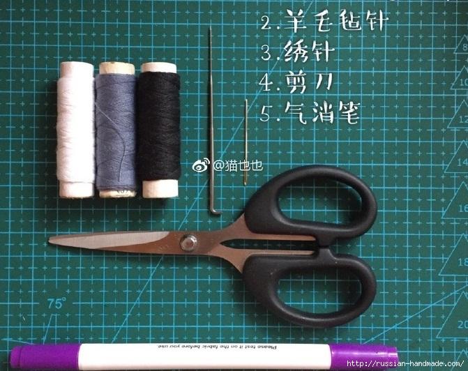 Вышиваем кукле глазки. Фото мастер-класс (2) (671x532, 288Kb)
