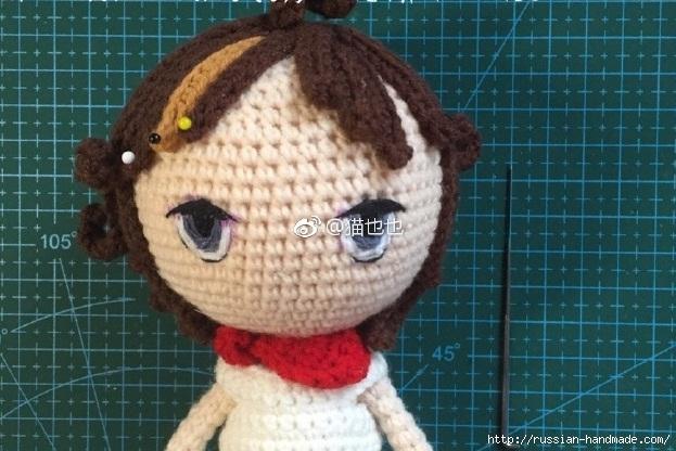 Вышиваем кукле глазки. Фото мастер-класс (6) (623x416, 199Kb)