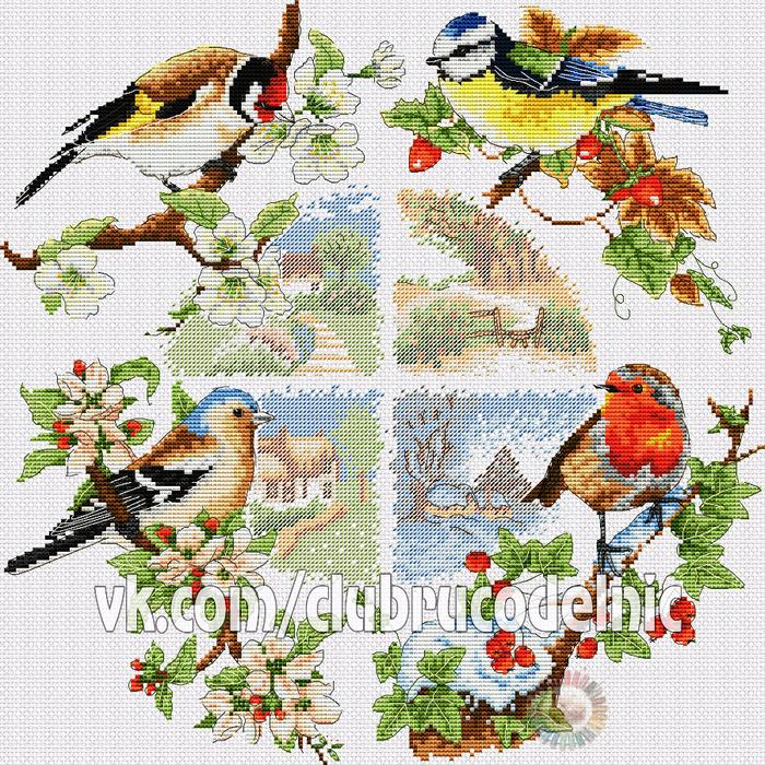 Птицы и сезоны (700x700, 907Kb)