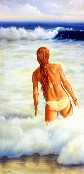 Эдуарду Камоэш: Тропический рай на «пышных» картинах художника